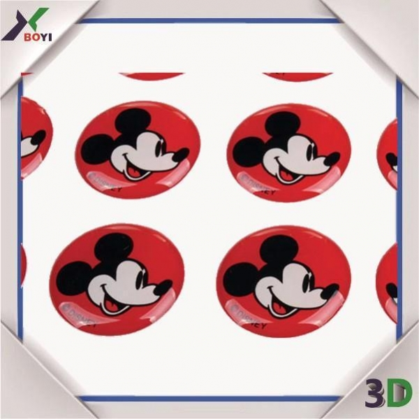 Buy Promotional Gifts Disney cartoon Epoxy Dome Sticker at wholesale prices