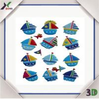 Quality small boat sticker for sale
