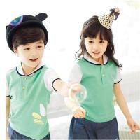 OEM Kids Dress Design School Uniform with Picture for Kindergarten