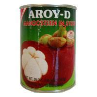 Quality Mangosteen in Syrup, Aroy D 20 oz. for sale
