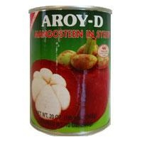 China Mangosteen in Syrup, Aroy D 20 oz.
