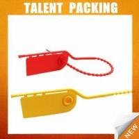 Buy cheap TL3005 Indicative airline plastic seal from wholesalers