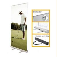 Quality Portable Retractable Stand Up Banners , Pull Up Retractable Display Stands for sale