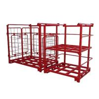 Quality Movable and Convenient Flexible Powder-coated Stacking Rack for sale