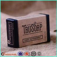 Quality Handmade Craft Carton Soap Packaging Box for sale