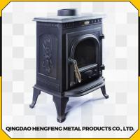 Quality Long Time Burning High Efficient Smokeless Modern Wood Stove for sale