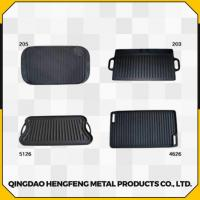 Quality Healthy Fine Finished Durable and Stable Cast Iron Griddle for sale