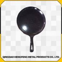 Quality Healthy Fine Finished Durable and Stable Cast Iron Pan for sale