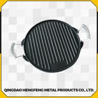 Quality Healthy Fine Finished Durable and Stable Cast Iron Skillet for sale