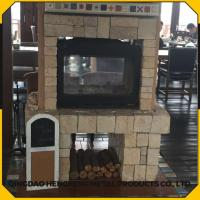 Quality Long Time Burning High Efficient Smokeless Antique Wood Stove for sale