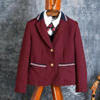 Fashionable styled school uniform blazer for high