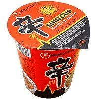 China Shin Ramen Noodle Cup - 6 cups - 2 on sale