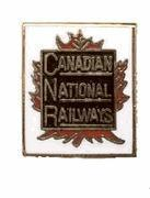 Quality One Pair of Canadian National Railroad Trains Train Cufflinks for sale