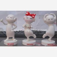 Lovely Mini Sculpture Cartoon Figure for Corporation Gifts