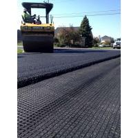 Quality Weft Knitting Structure High Tencity Polyster Geogrid for Layfield and Soil Reinforcement for sale