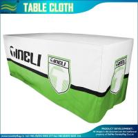 China Custom Fitted Table Covers For Trade Shows, Business on sale