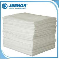 SPO Oil Absorbent Pads White Sonic Bonded Perforated And Laminated Sheets