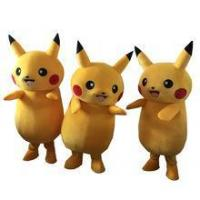 China Hot Pikachu mascot costume Adult Size Chirstmas Party Fancy Dress Stock on sale