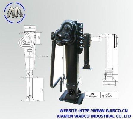 Buy Aftermarket Semi-Trailer FUWA landing gear  American Type  Gearbox Outside at wholesale prices