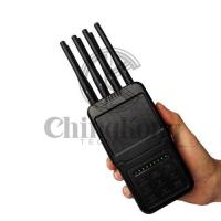 Quality Handheld Wireless Signal Jammer of ABS shell, with Nylon Cover easily carry for sale