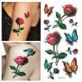 Quality 3D Free Body Tattoo Sticker for Women for sale