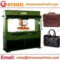 China Leather cutting machine Leather Upholstery Car Truck Seat Cover Cutting Machine on sale