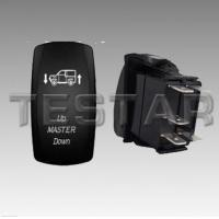 Carling rocker switch-UP MASTER DOWN