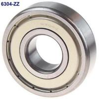 Quality Solid Grease ZZ Seal Type Deep Groove Ball Bearing 6304ZZ 20x52x15mm for sale
