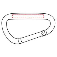Buy cheap 2 Inch Small Carabiner With Web Strap from wholesalers