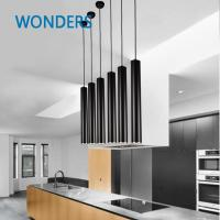 Buy cheap Creative Modern Cylinder Led Pendant Light For Living Room from wholesalers
