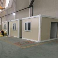 good insulated demountable estate strong build real estate container houses