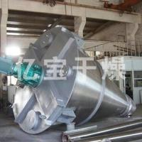 Conical twin-screw mixer