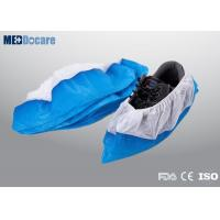 Quality Workman PPE shoe covers ultra sonic machine seal waterproof and anti skid for sale