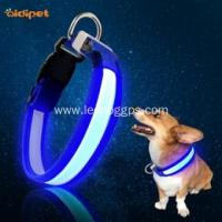 China LED Dog Collar Best Rechargeable Led Lights Dog Collar on sale