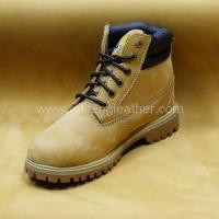 Quality Cow Nubuck Waterproof Leather for sale