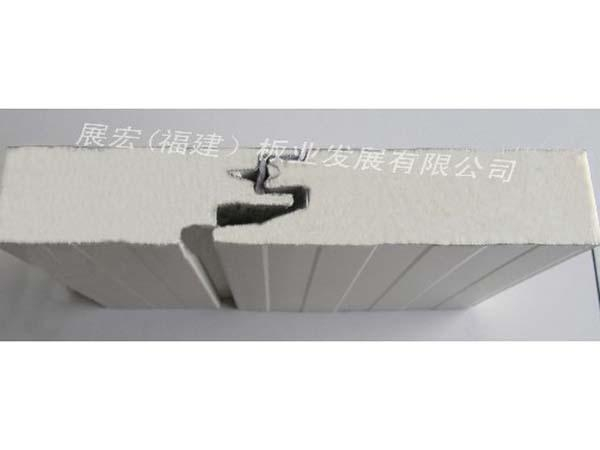 China Polyurethane concealed exterior wall board