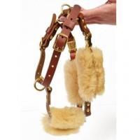 Quality Sheepskin Wraps  Harness Strap Cover Kit for sale