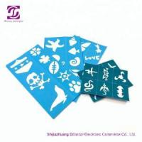 Quality Reusable skin harmless face paint stencils for sale