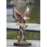 China Garden Series SF12107-2 Resin Crafts Animal Scrupture Outdoor Eagle Statue on sale