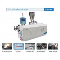 Quality Extrusion Series c-PVC pipe extrusion line for sale