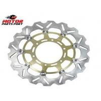 China Stainless Steel 310mm Motorcycle Rear Disc Brake Rotor For Suzuki gsxr 600/750/1000 on sale