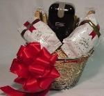 China Gourmet Food Gifts Coffee Gift Basket with Grinder on sale