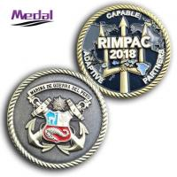 Quality Metal Enamelled Challenge Coin for sale
