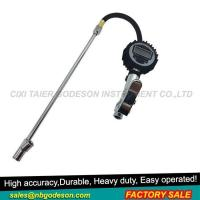 Tire Inflator Gauge with Dual Foot Chuck