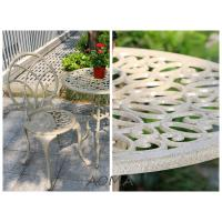 Buy cheap cast alu.chair and table cast aluminum bistro set from wholesalers