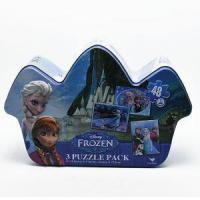Buy cheap Promotional House Shape Puzzle Cake Tin Box from wholesalers