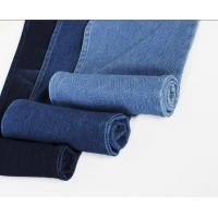 Buy Cotton Spandex Knitted Denim Fabric at wholesale prices