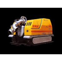 Buy cheap Longxishui Mobile Pump Station Self-Suction Controlled with Small-Size Crawler from wholesalers