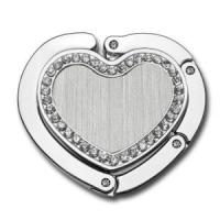 Buy cheap Heart Purse Hook with Crystal (BH-012) from wholesalers