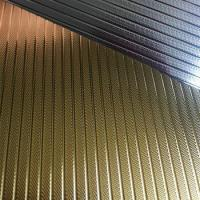 Buy cheap Golden PVC paper for curtain rods from wholesalers